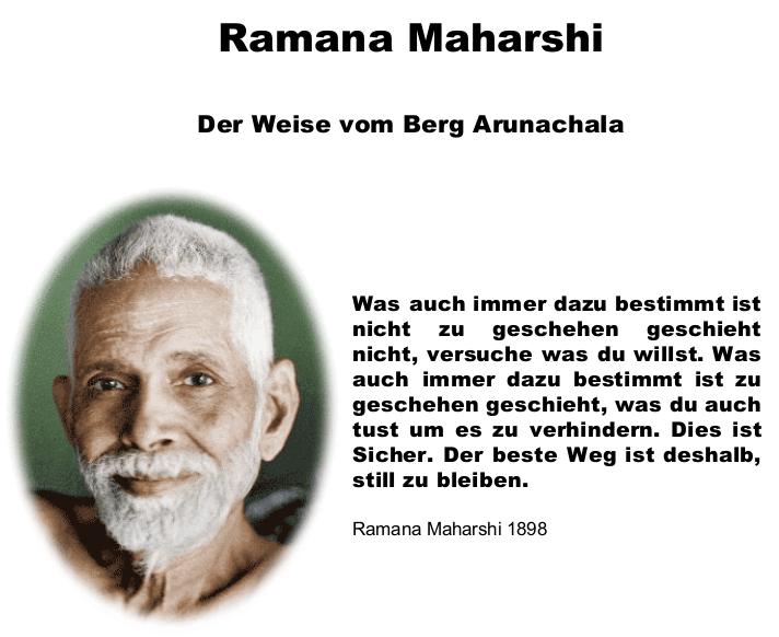 Ramana Maharshi - Stille