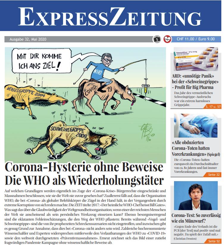 Corona Express Zeitung