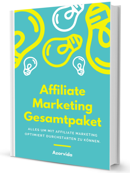 Affiliate Marketing Gesamtpaket - Buch